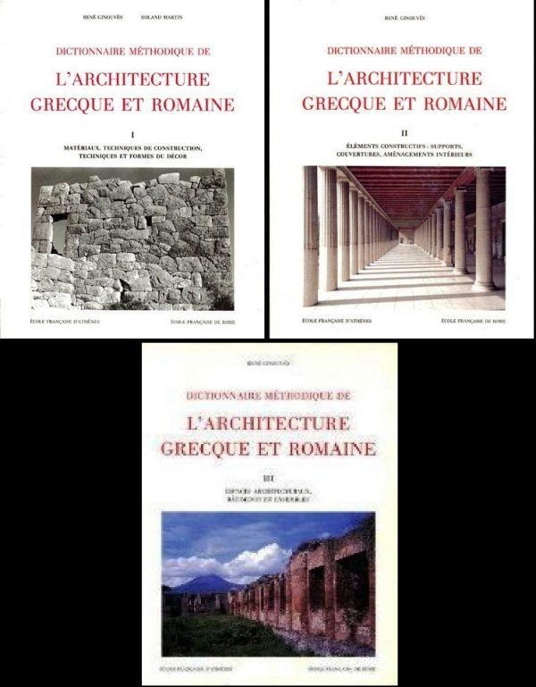 Dictionnaire m thodique de l 39 architecture grecque et for Architecture dictionnaire