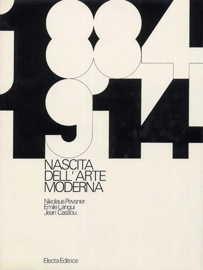 1884/1914 Nascita dell'arte moderna