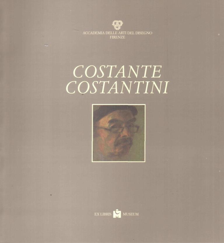 Costante Costantini Pittore Incisore Opere - Salone delle esposizioni, Firenze, febbraio 1996