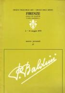 <span>Mostra personale di</span> Primo Baldini