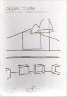 Appesi d'arte <span>con 26 cartoline</span> <span>dipinti Silvia Cardini, Installazioni Elena Barthel</Span>