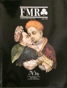 FMR Mensile d'Arte di Cultura e d'Immagine n° 32 Aprile 1985