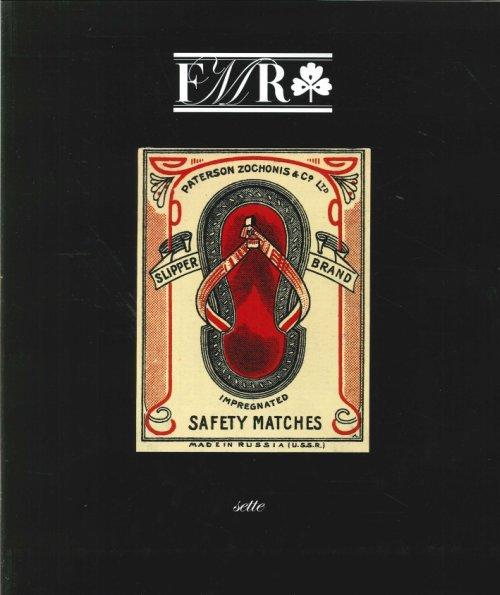 FMR Bimestrale d'Arte Culturale n° 8 agosto-settembre 2005