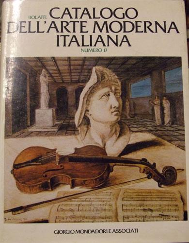 Bolaffi catalogo arte moderna italiana numero 17 libreria for Moderna catalogo