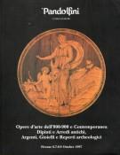 Pandolfini Casa d'Aste Opere d'Arte dell'800-'900 e contemporanea Dipinti, e Arredi Antichi, Argenti, Gioielli e Reperti archeologici
