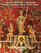 Pandolfini Casa d'Aste Opere d'Arte dell'800-'900 e contemporanea Dipinti, Stampe, Sculture, Arredi Antichi, Argenti, Gioielli e Orologi