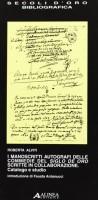 I manoscritti autografi delle commedie del Siglo de Oro scritte in collaborazione <span>Catalogo e studio</SPAN>