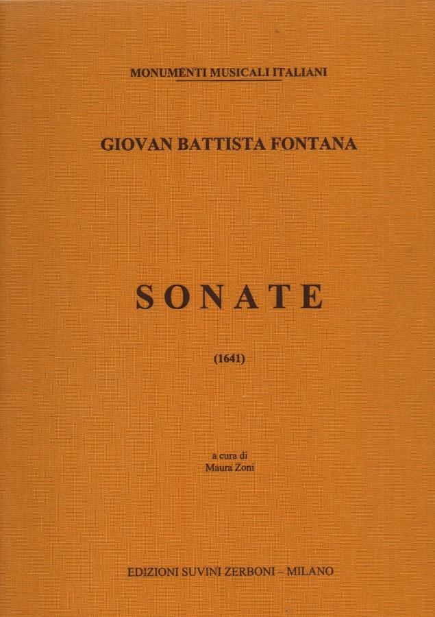 Sonate a 1.2.3. per il Violino, o Cornetto, Fagotto, Chitarrone, Violoncino o simile altro Strumento (1641)