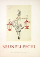 Umberto Brunelleschi otto figurini per 'Turandot'