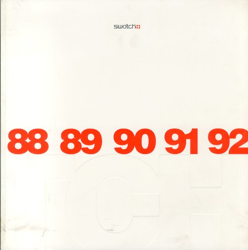 Swatch 88-89-90-91-92 2 Voll.