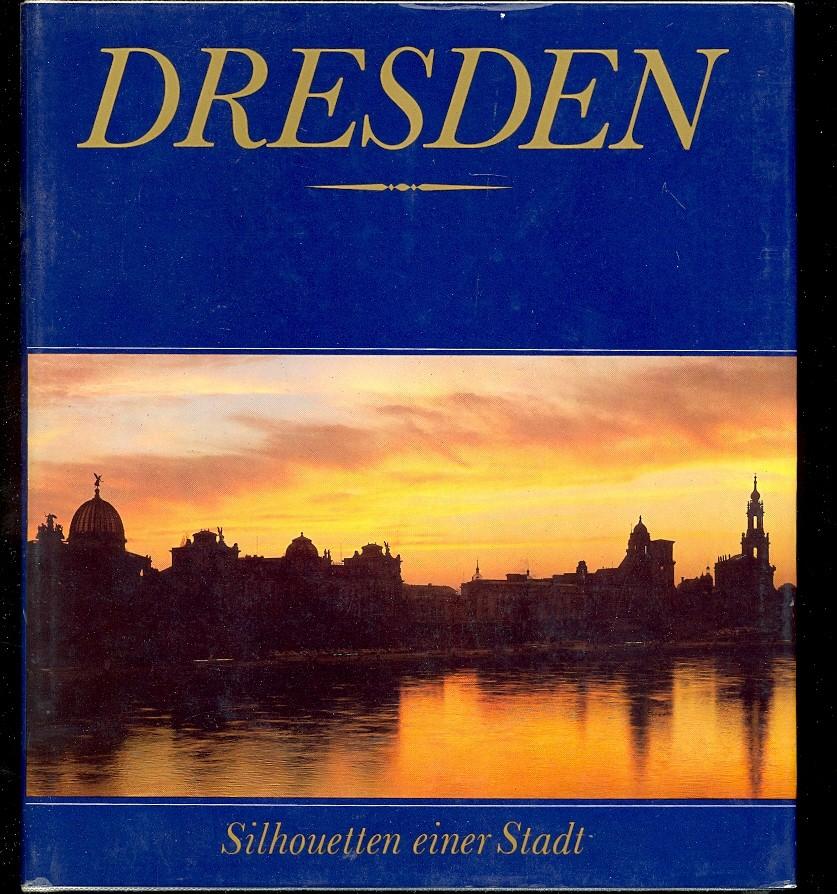 Dresden Silhouetten einer Stadt