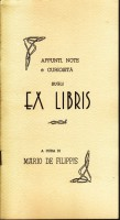 <span>Appunti Note e Curiosità sugli</span> Ex Libris