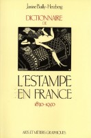 <h0><span><i>Dictionnaire de </i></span>l'estampe en France <span><i>1830-1950</i></span></h0>