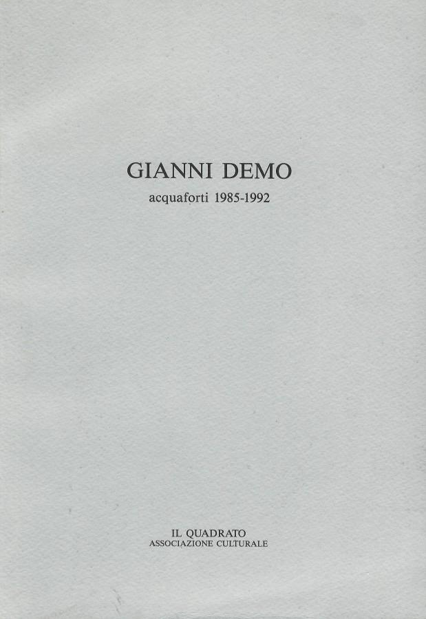 Ezio Camorani Incisioni dal 1968 al 1991