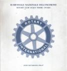 III Biennale Nazionale Dell'Incisione Rotary Club Acqui Terme - Ovada