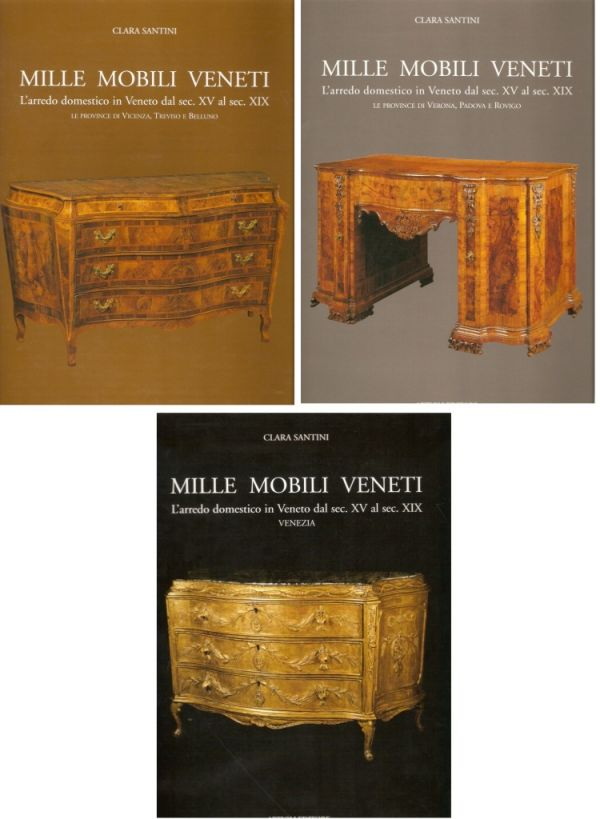 Mille mobili veneti libreria della spada libri esauriti for Mobili veneti