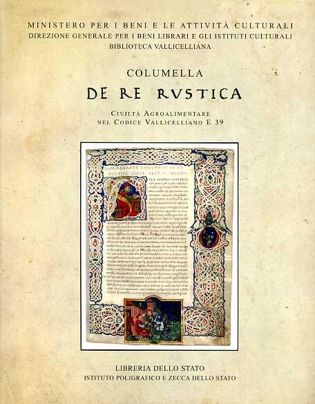 Columella De Re Rustica Civiltà agroalimentare nel Codice