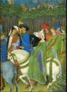 Die Très Riches Heures de Jean Duc de Berry im Musée Condé Chantilly