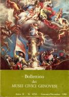 Bollettino dei Musei Civici Genovesi <span>4/5/6 - Gennaio/Dicembre 1980</span>
