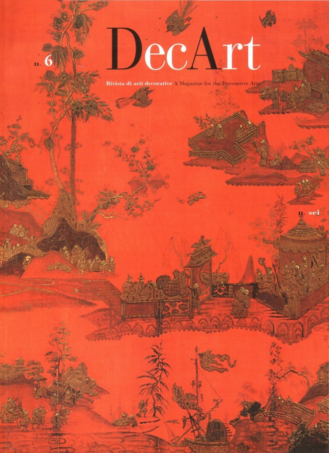 Decart 6. Rivista di arti decorative A magazine for the Decorative Arts