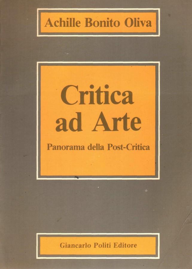 Critica ad Arte Panorama della Post-Critica