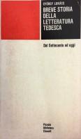 Breve storia della letteratura tedesca dal Settecento ad oggi