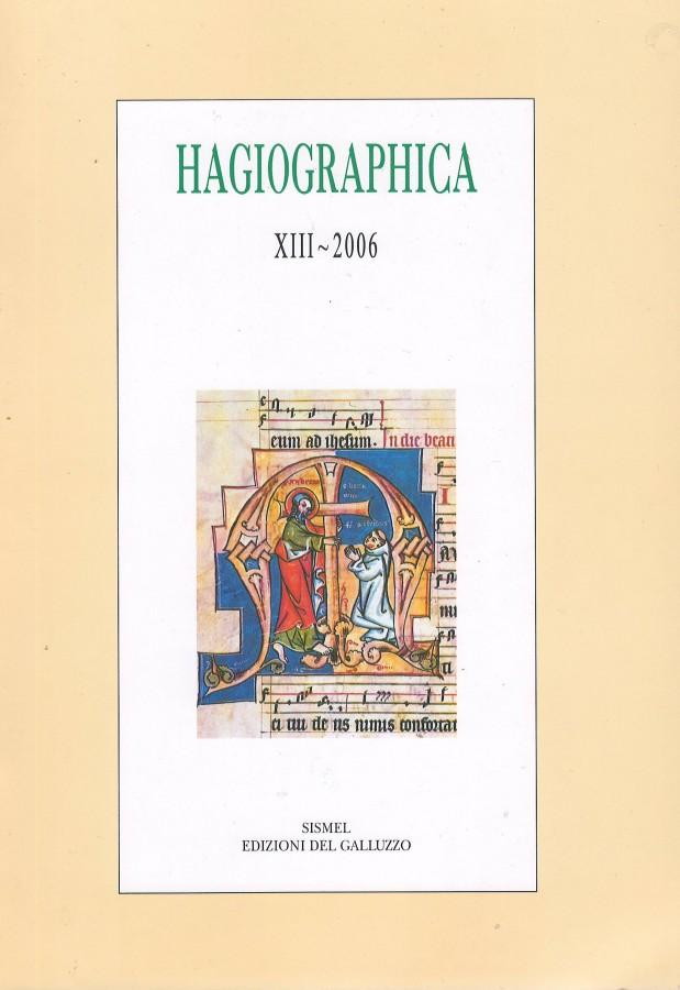 Hagiographica XXI - 2014
