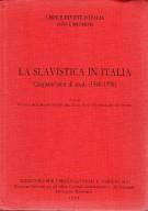 <h0>La Slavistica in Italia <span><i>Cinquant'anni di Studi (1940-1990)</i></span></h0>