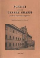 <h0>Scritti in onore di Cesare Grassi <span>per il suo ottantesimo compleanno <span><em>Saggi, testimonianze, ricordi</em></span></h0>
