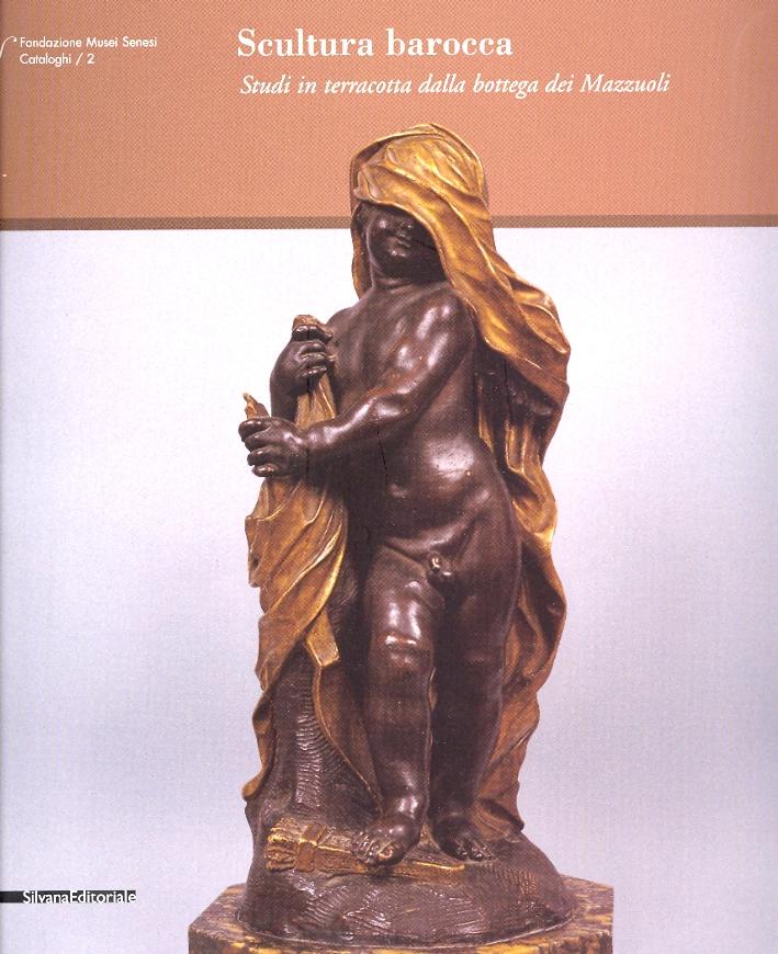 Scultura Barocca Studi in terracotta dalla bottega dei Mazzuoli