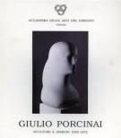 Giulio Porcinai Sculture e Disegni 1935-1972