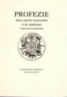 Profezie dell'Abate Gioacchino e di Anselmo Vescovo di Marsico