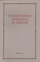 <h0>L'Osservatorio Ximeniano di Firenze </h0>