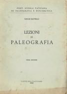 <h0>Lezioni di paleografia</h0>