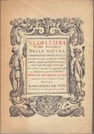 <h0>Uccelliera <span><i> Ovvero discorso Della Natura</i></span></h0>